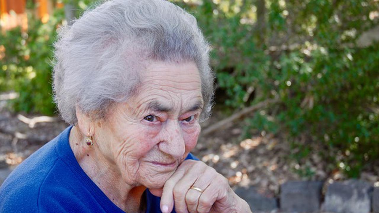 The late Annunziata Santoro, whose treatment in aged care in Melbourne was examined at the Royal Commission into aged care. Picture: AAP Image/Supplied by Royal Commission into Aged Care