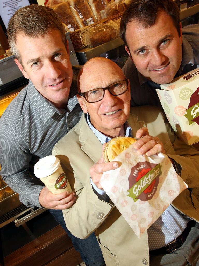 Joshua Goldstein, Frank Goldstein and Martin Goldstein.