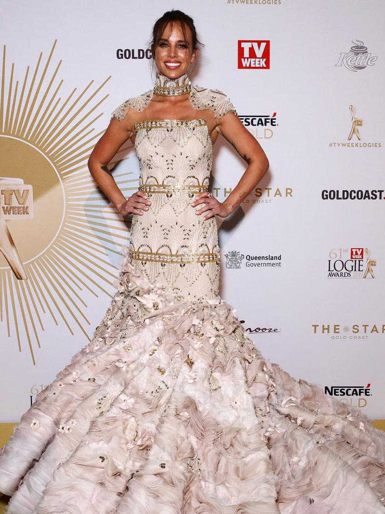 The star on the Logies red carpet this year.