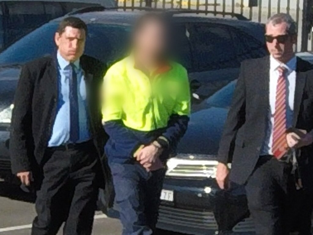 Strike force detectives arrested 32-year-old Jamie Roy McKeay outside a business at Chullora about 1pm on Friday, June 21, 2019. Picture: NSW Police