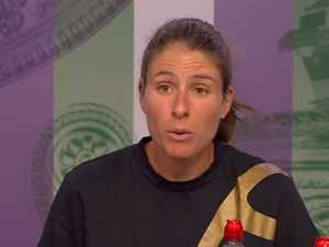'Don't patronise me': Tennis star hits back at journalist