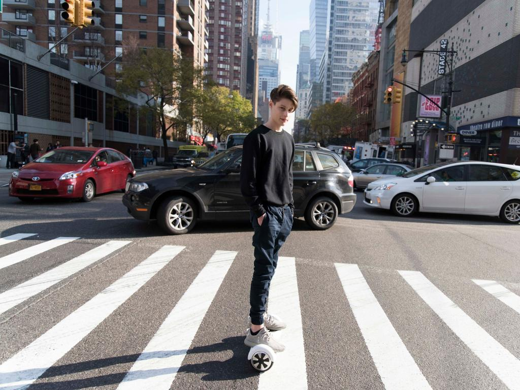 "Teen whiz kid Ben Pasternak, who now lives in Manhattan, says he ""wasn't designed for school"". Picture: Wentworth Courier"