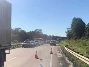 Motorcylist dead after horror Bruce Highway crash
