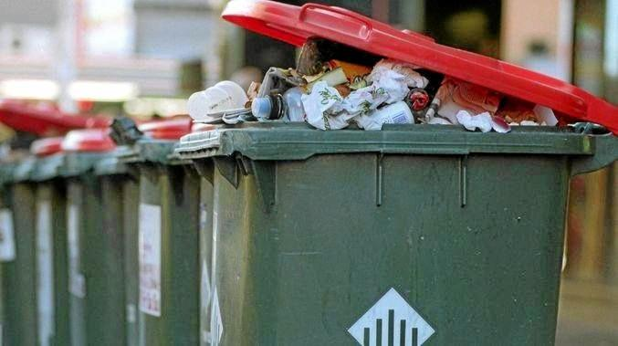 WASTE NOTICE: New waste levy to be introduced.