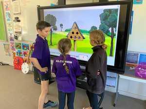 Rural school breaks digital divide