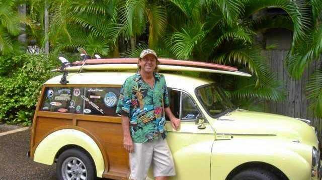 Woody's Morris done travellin'
