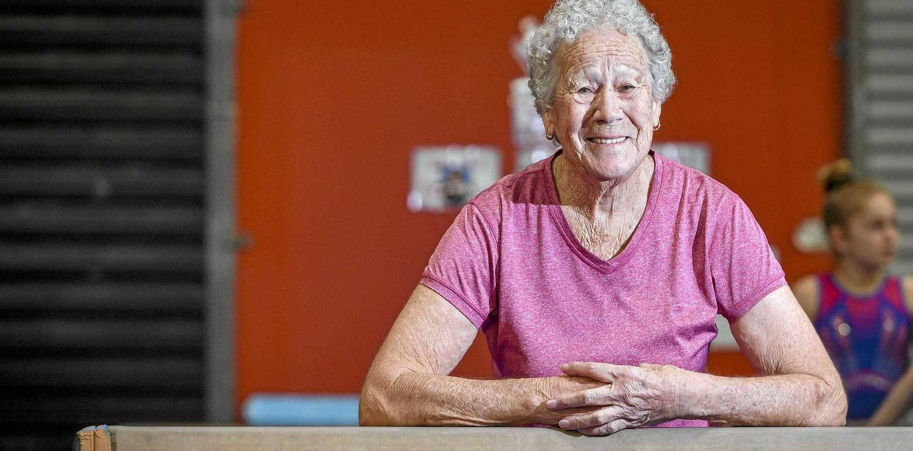 GOING STRONG: Telina resident Margaret Wilson, 82, will compete in this weekend's Gymnastics Queensland Masters event held at Gladstone.