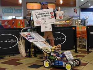 Mowing down $2 million for Aussie kids