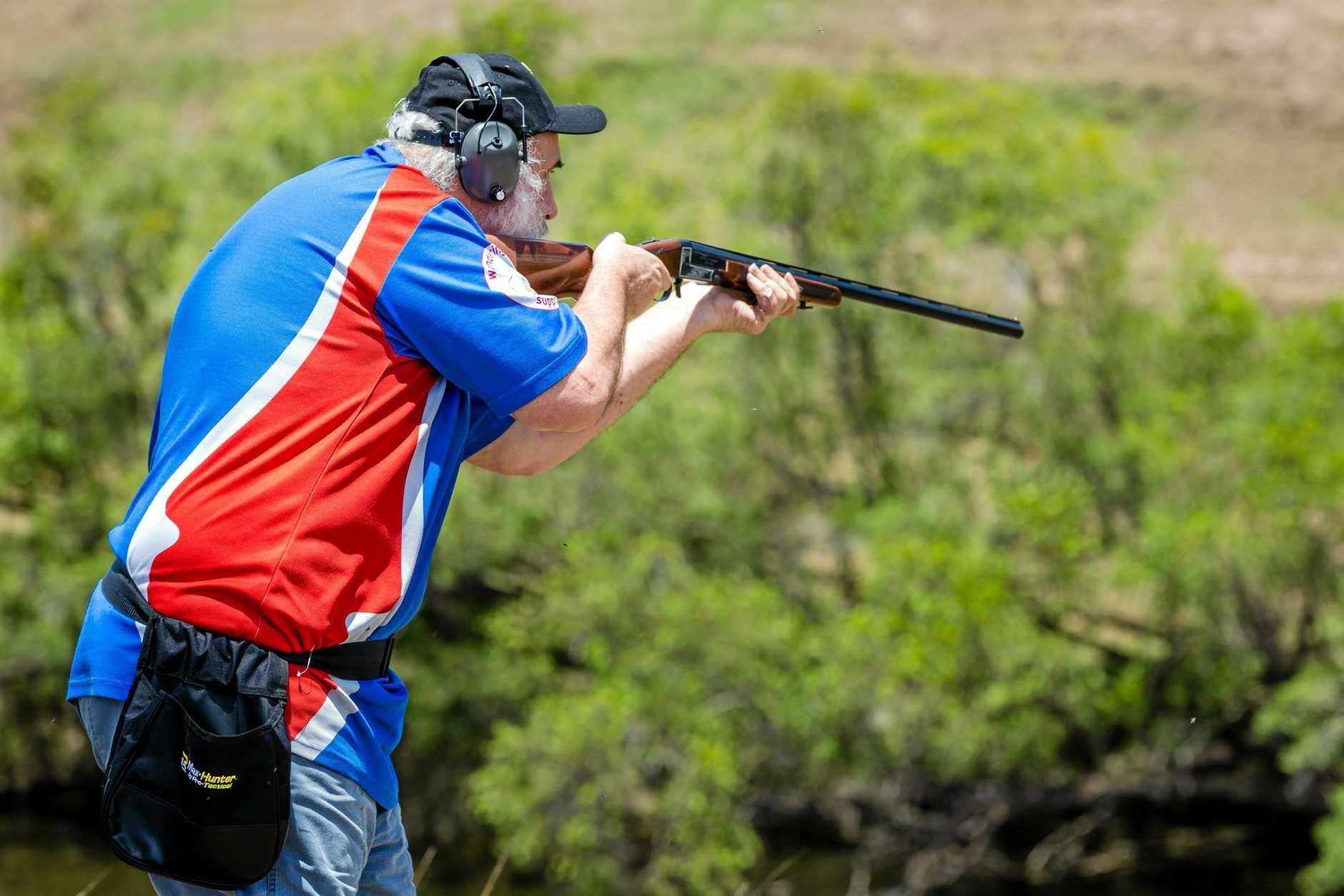 Shooting clays, Ron Owen