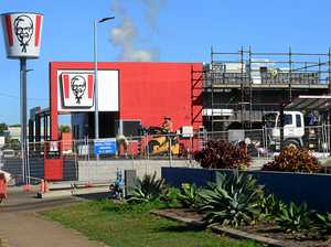 KFC bucket up and spinning as new store open date nears