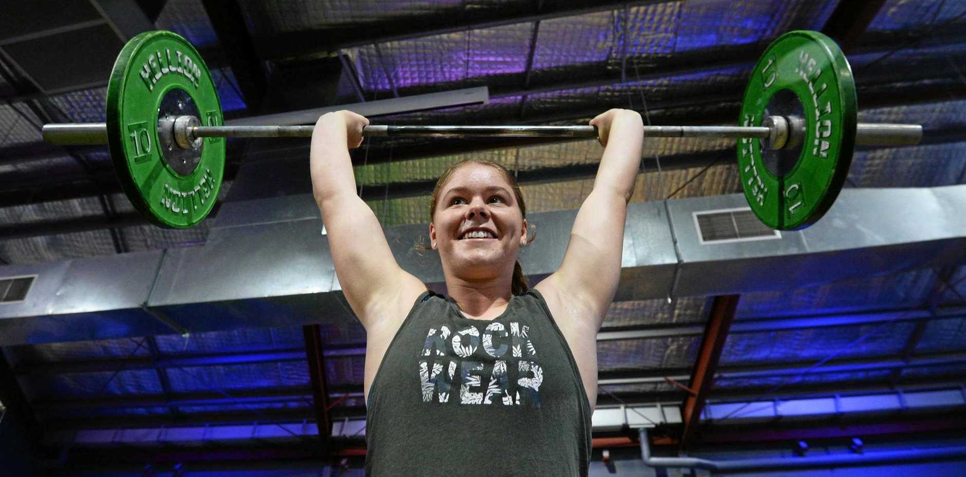 POWERHOUSE: Tai Gwynne will be among the crossfit athletes competing in the VidaFit Super Series.
