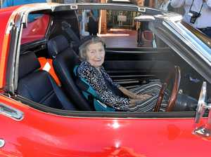 Mount Morgan senior revs up in style for 100th birthday