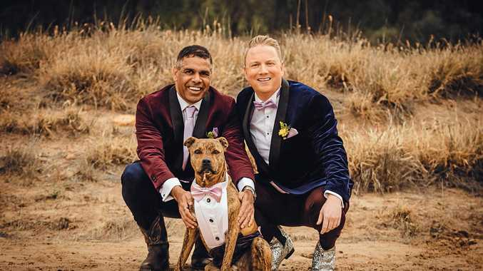Small town's first same-sex wedding inspires change of heart