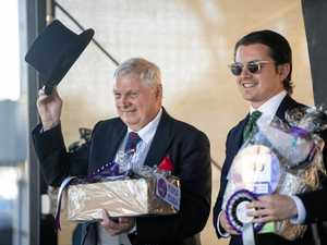 Fashion fit for royalty takes out gents' title