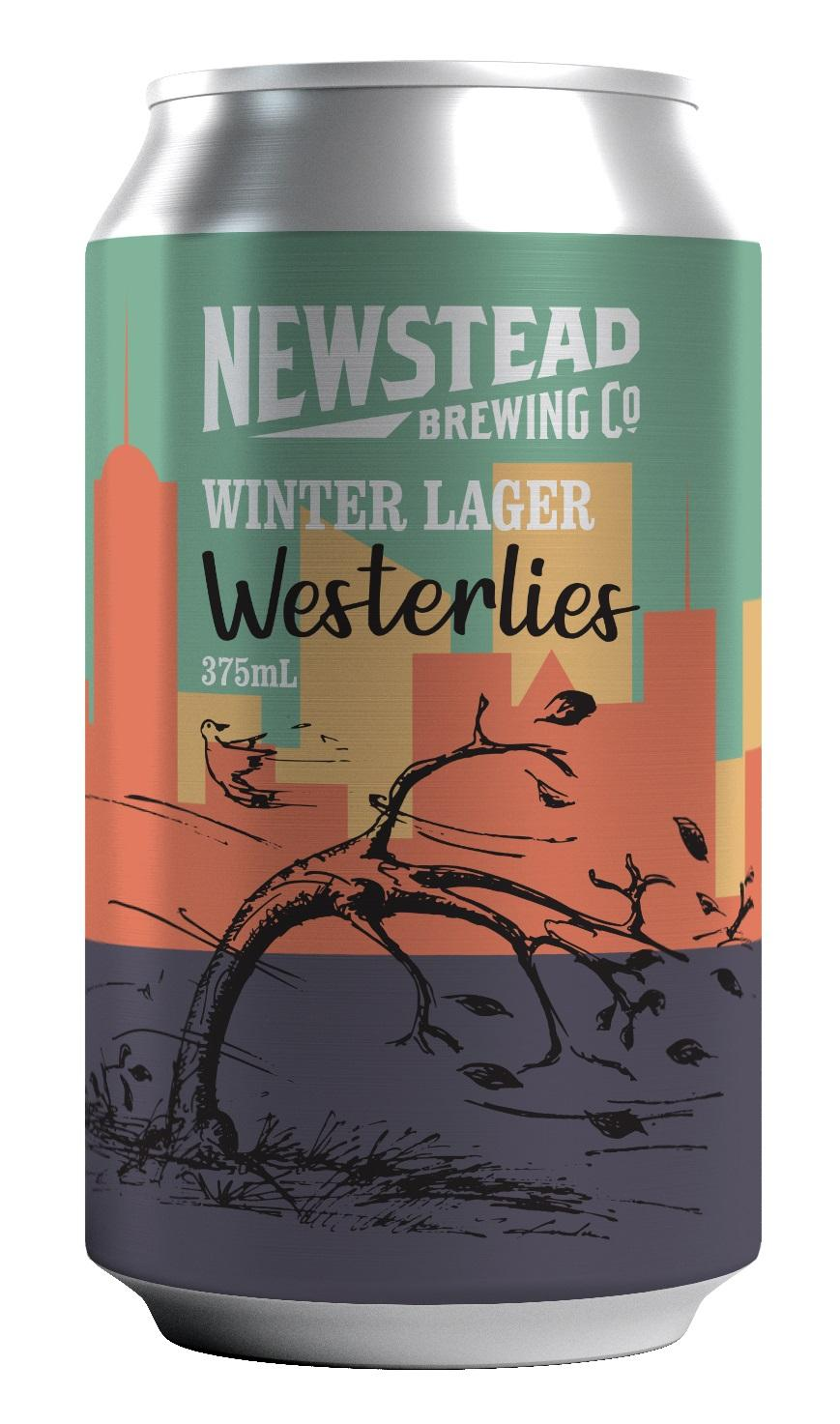 Newstead Brewing's Winter Lager Westerlies