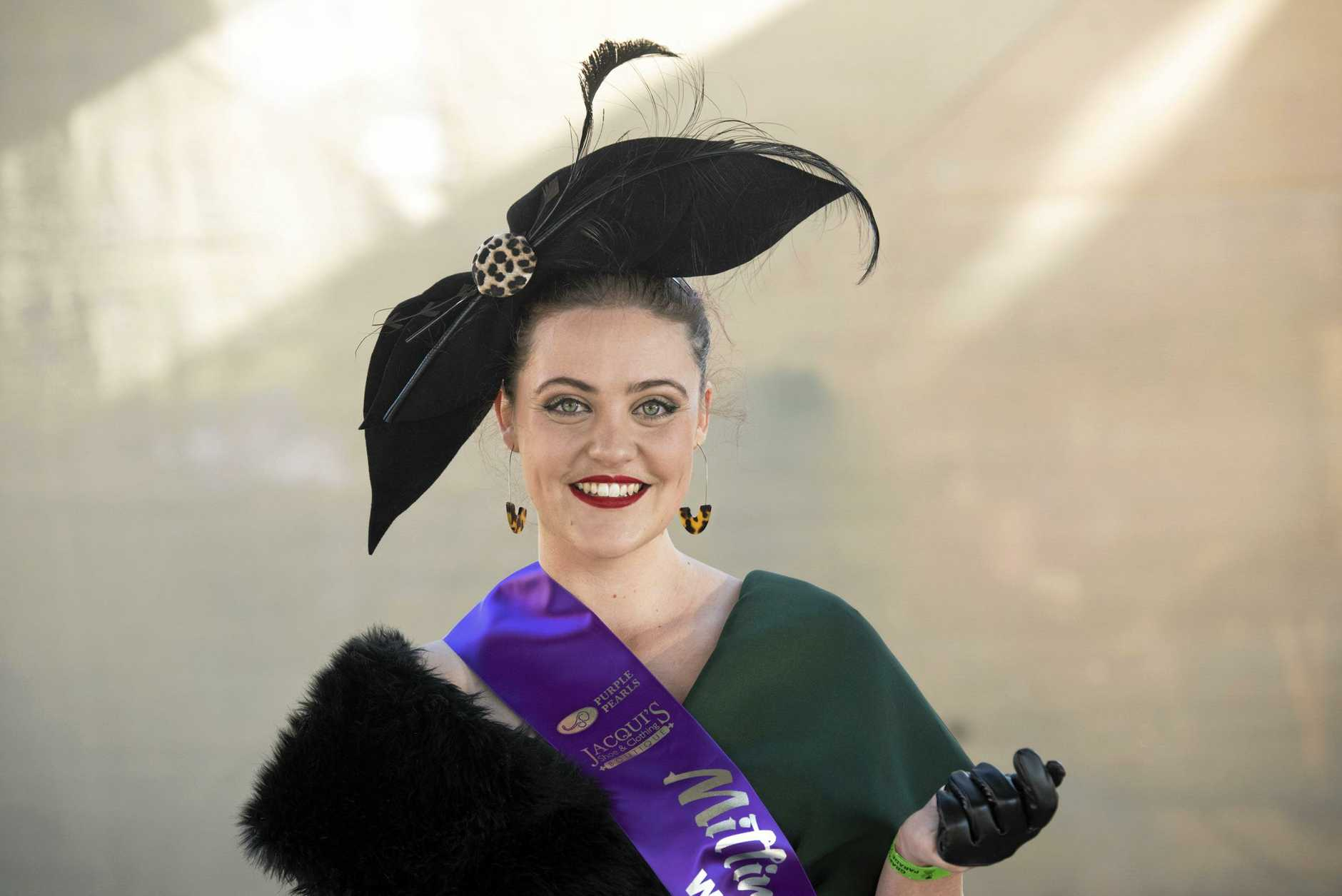 MILLINERY WINNER: Adelaide Zietsch.