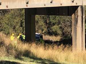 Stuart Bridge roll-over