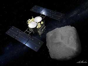 Japan spacecraft samples asteroid soil
