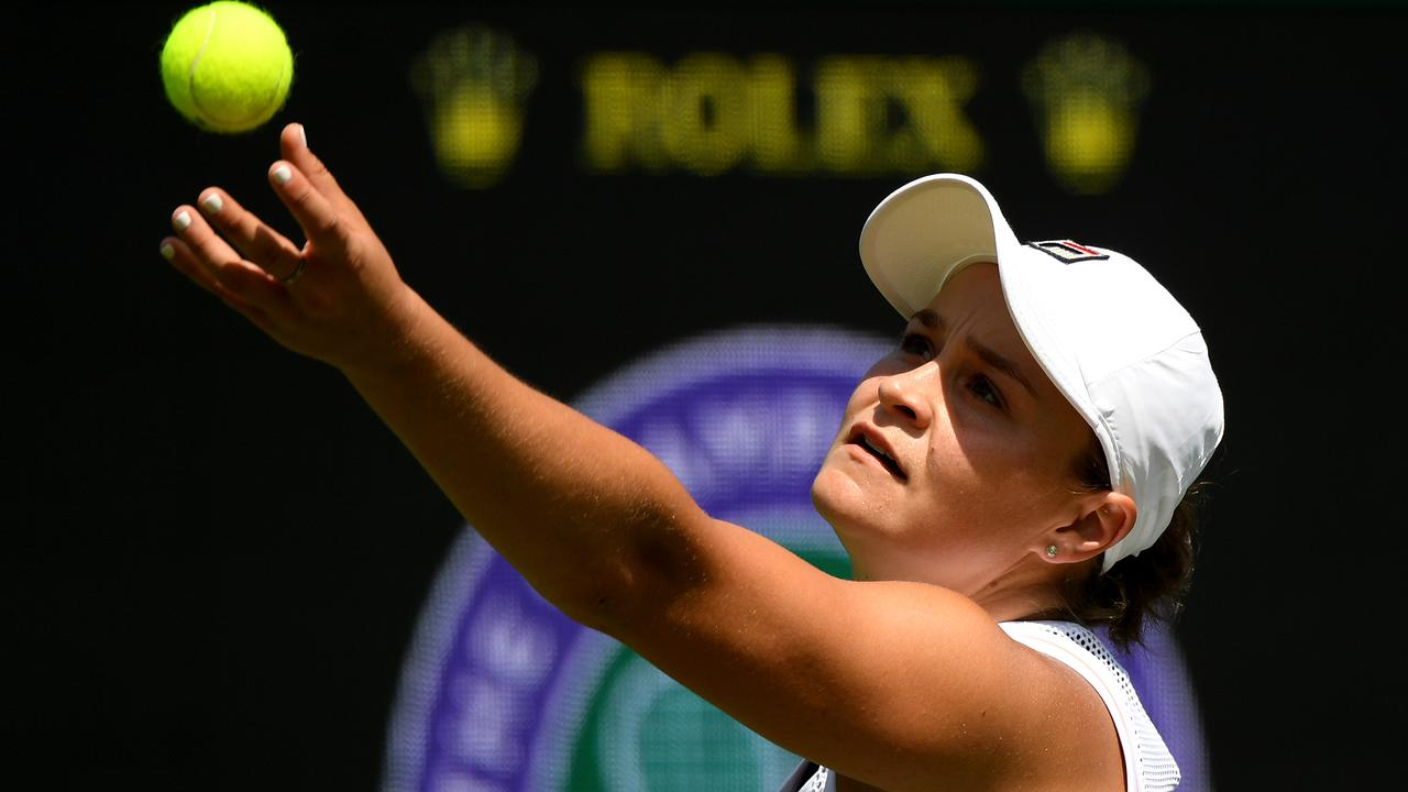 Ashleigh Barty credits taking a break from tennis with her renewed love for the game. Picture: Matthias Hangst/Getty