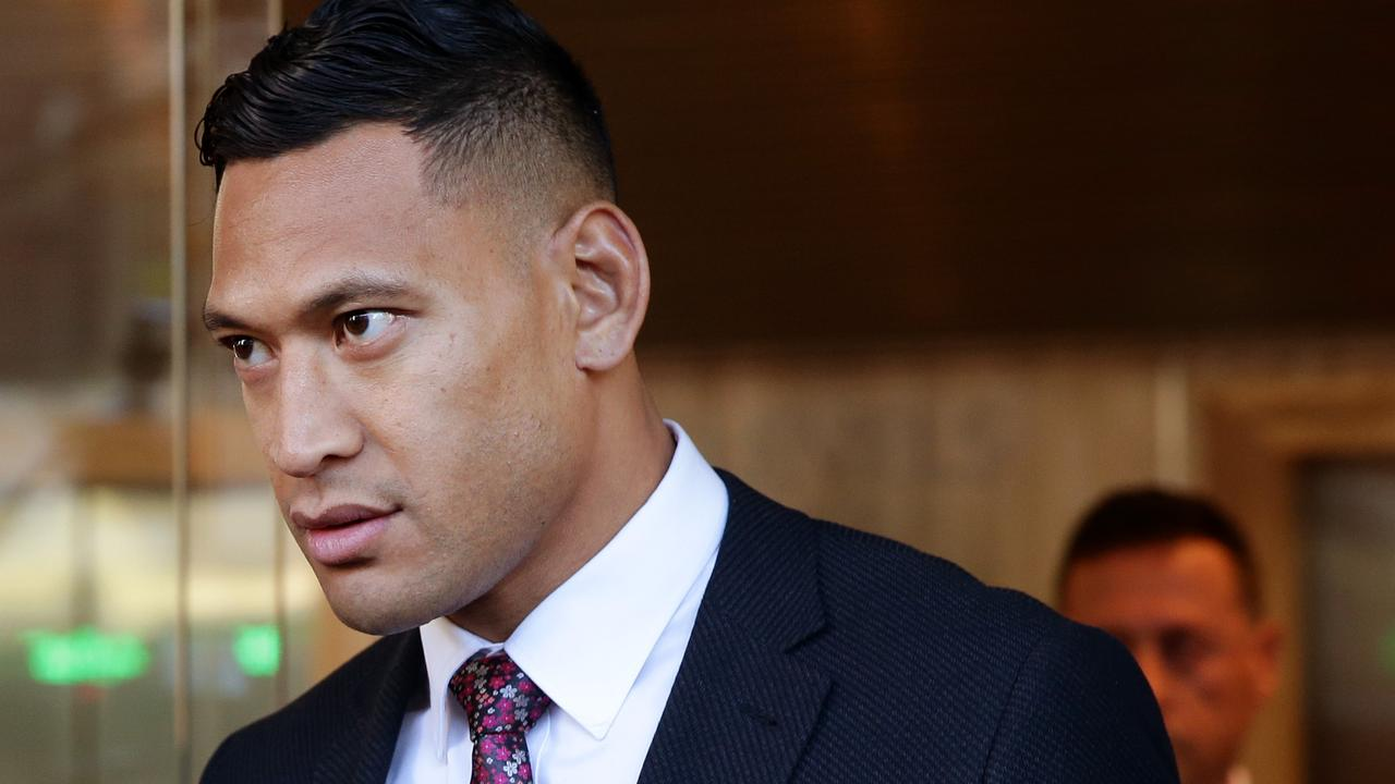 The LNP state convention will debate a motion calling for laws inspired by Israel Folau sacking by Rugby Australia. Picture: Jonathan Ng