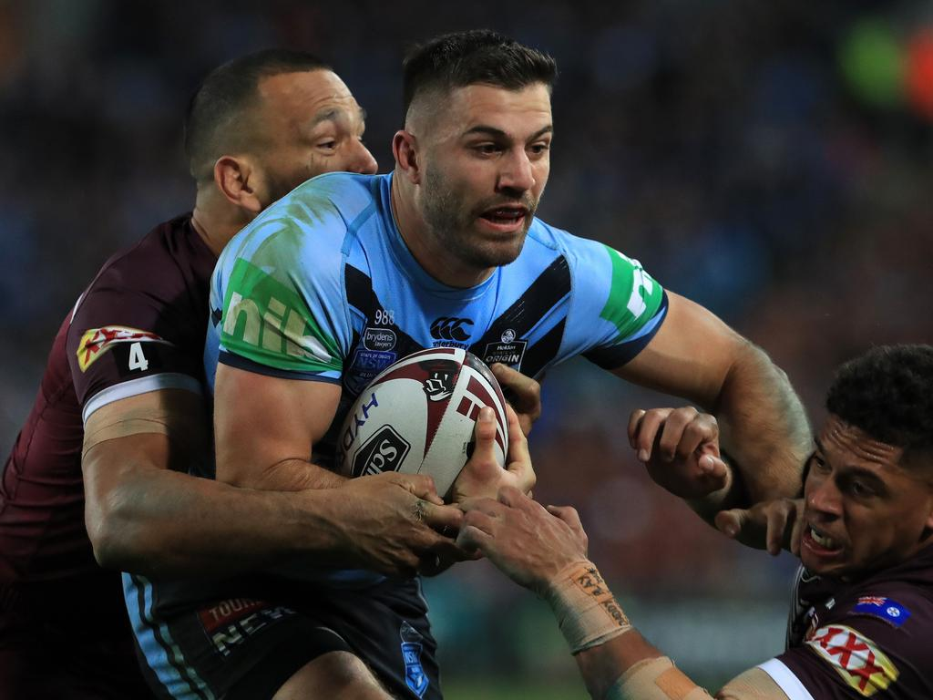 James Tedesco was the difference. Picture: Adam Head