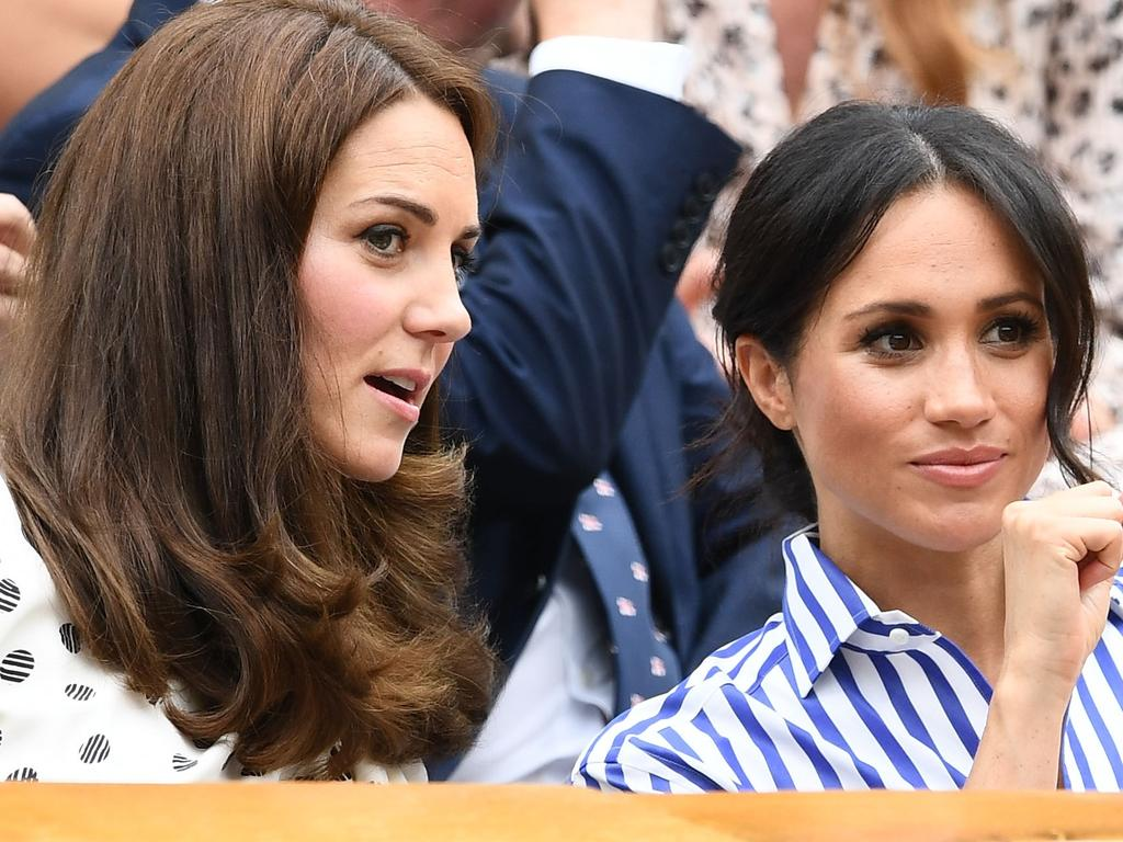 Tatum O'Neal says that Meghan, Duchess of Sussex could learn something from Kate, Duchess of Cambridge. Picture: Getty