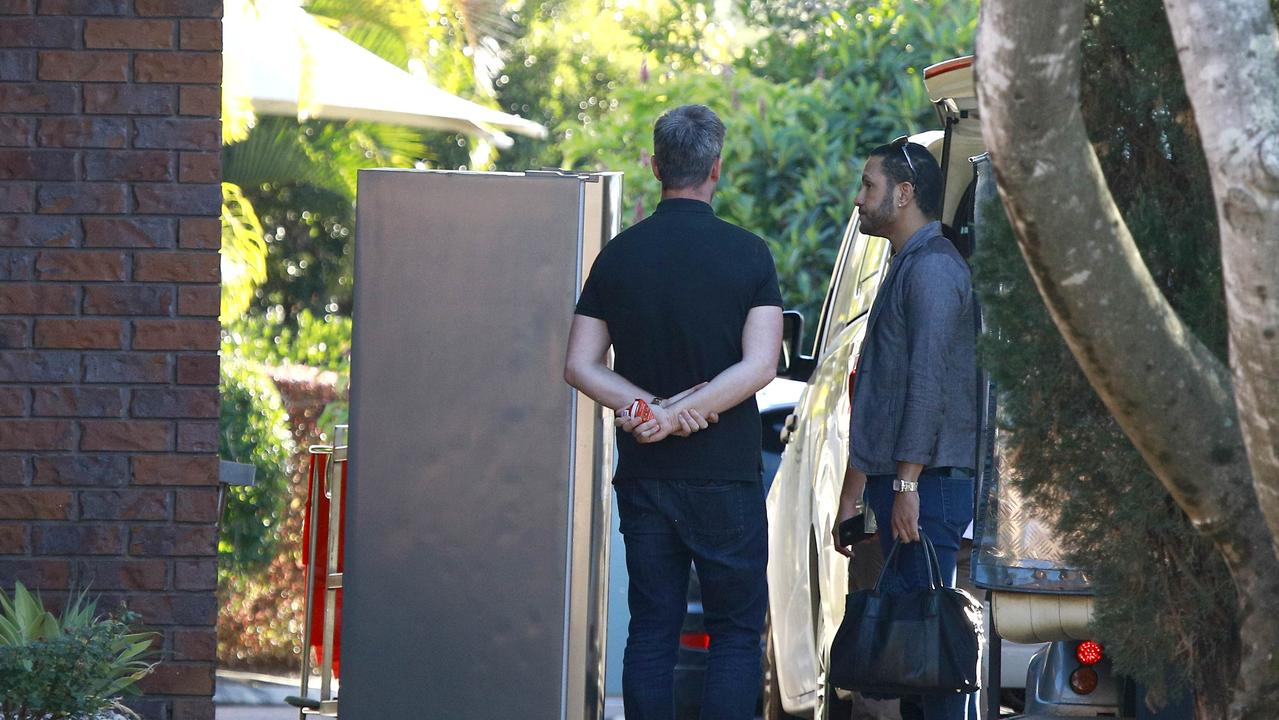 Fridges being taken away. Picture: Tertius Pickard