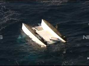 Three dead as girl rescued from capsized yacht