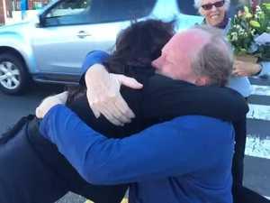 Good Samaritan meets crash victim
