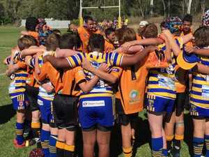 Wallabys and Noosa Pirates embrace