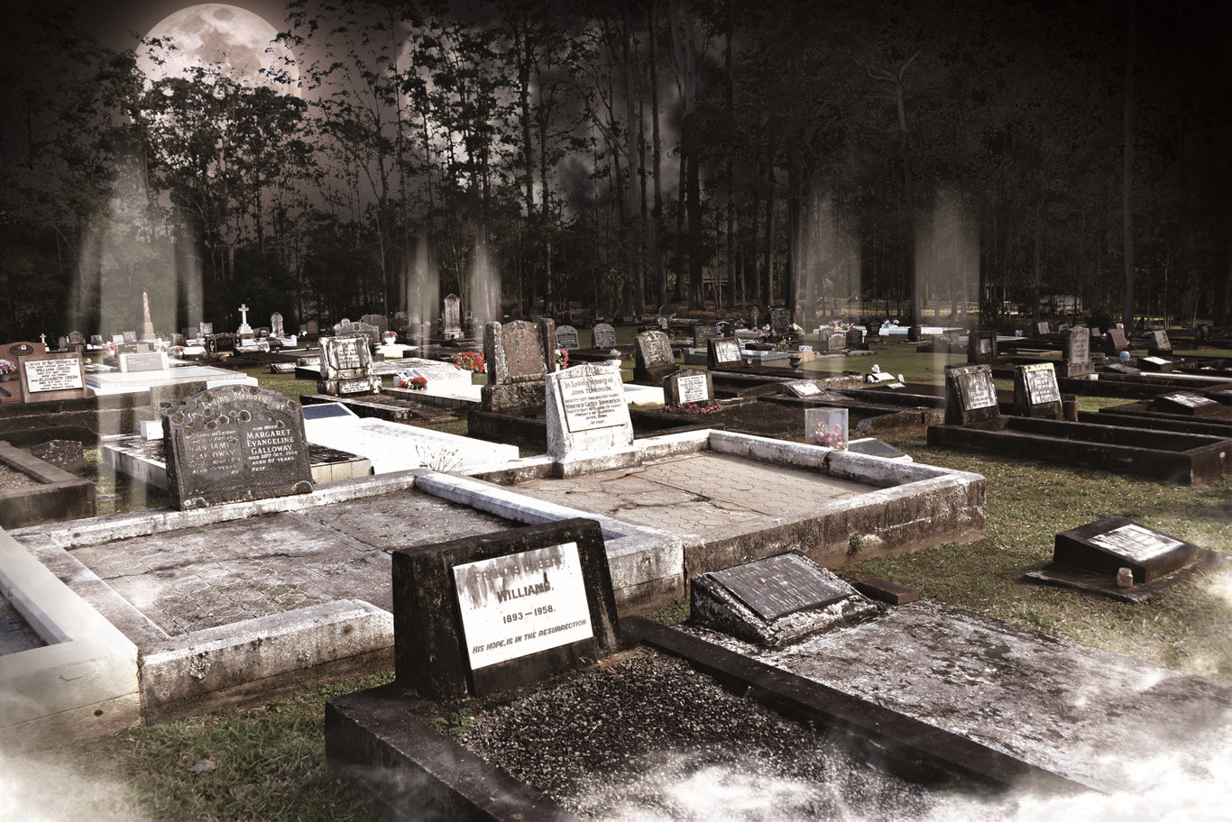 The tales of passed Noosa folk will come to life at the Pomona Cemetery Walk.