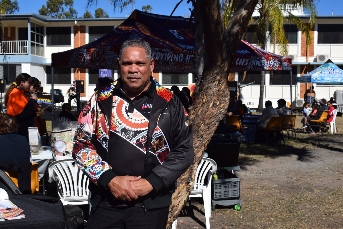 IMPORTANCE OF NAIDOC: Floyd Leedie sees NAIDOC week as a chance to bridge the gap between indigenous and non-indigenous Australians.