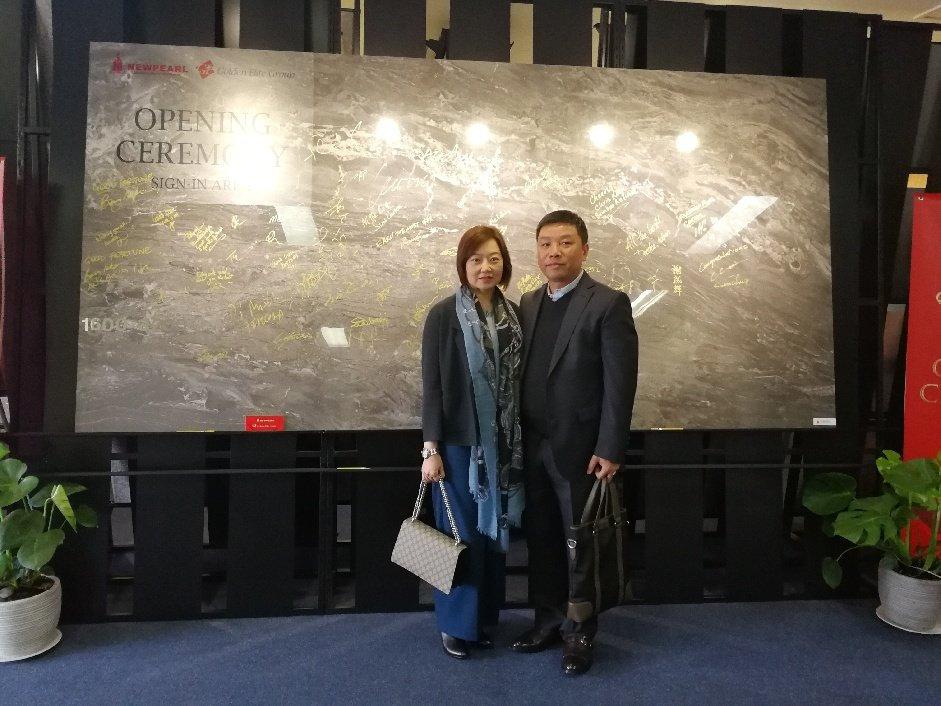 Stella Sun and husband, developer Alex Yuan.