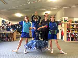 Dance workshop gives school kids confidence
