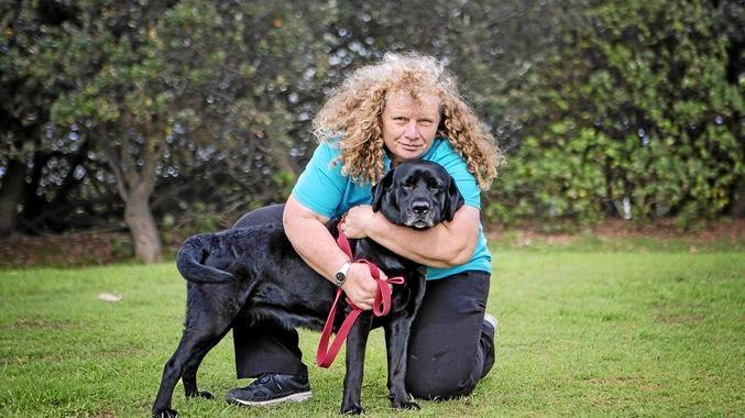 Kyra Ensbey from Bright Bessy Dog Training.