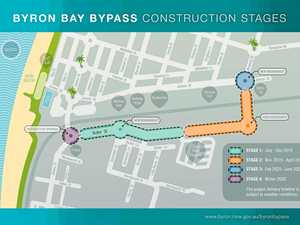 Construction begins for Byron bypass