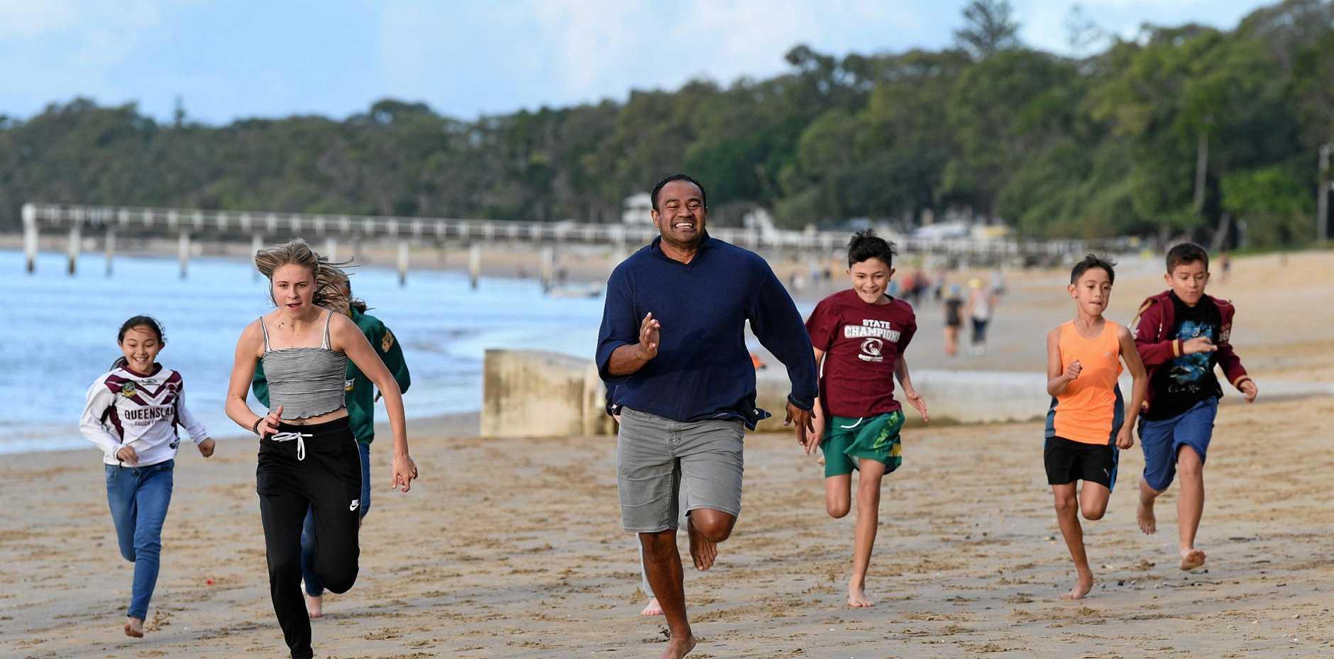 RUN: Brisbane Mustang's family beach race: