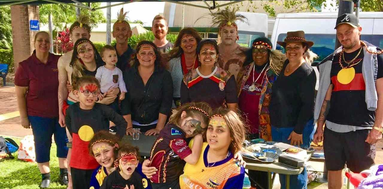 IMPORTANT OCCASION: Locals turned out in good numbers for the NAIDOC 2019 Proserpine Flag Raising and Smoke Ceremony on Monday.