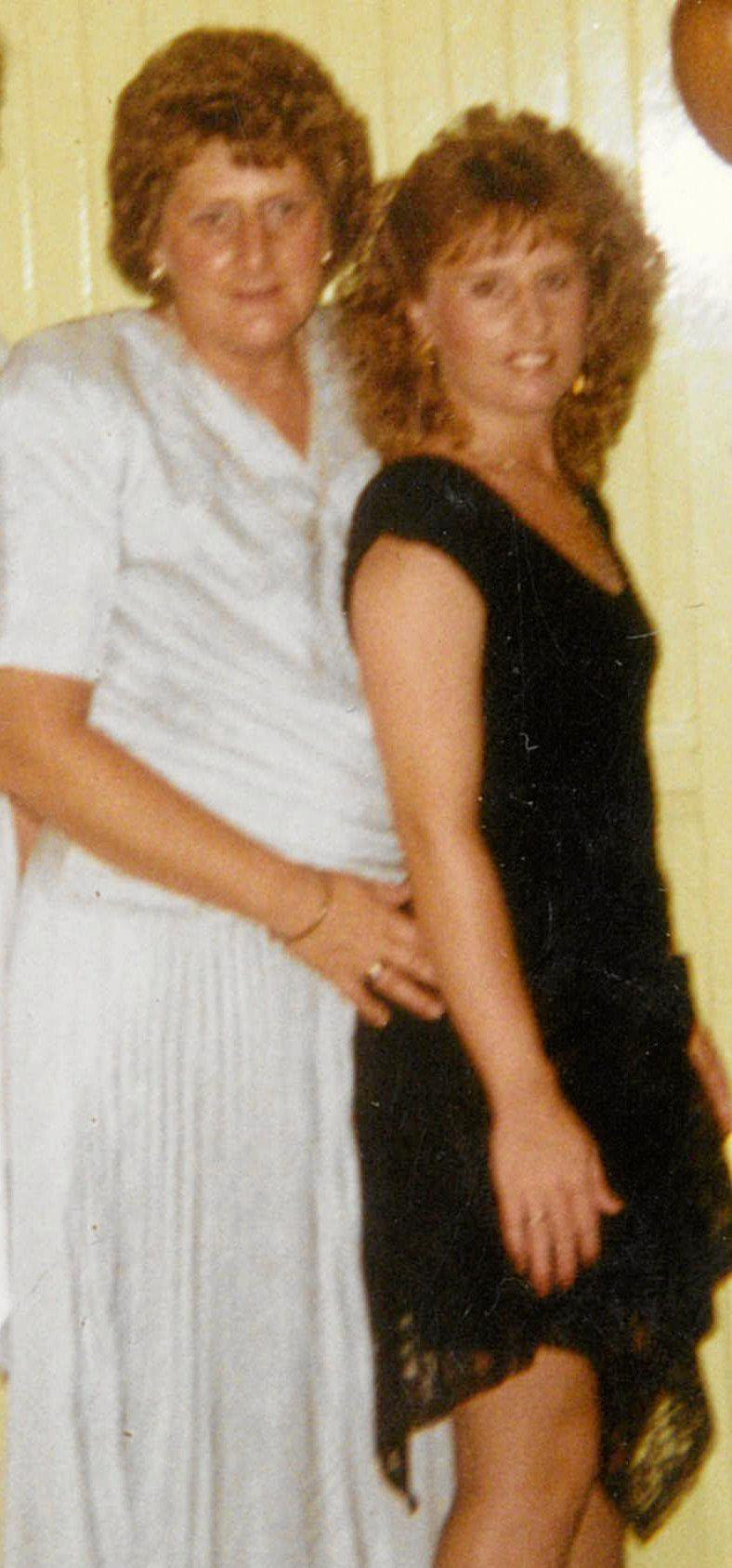 Judith Read and her daughter Wendy in the 1980s.