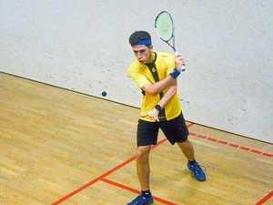 Gladstone squash player stakes professional claim overseas