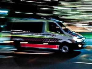 Teen hospitalised after car crashes into pole