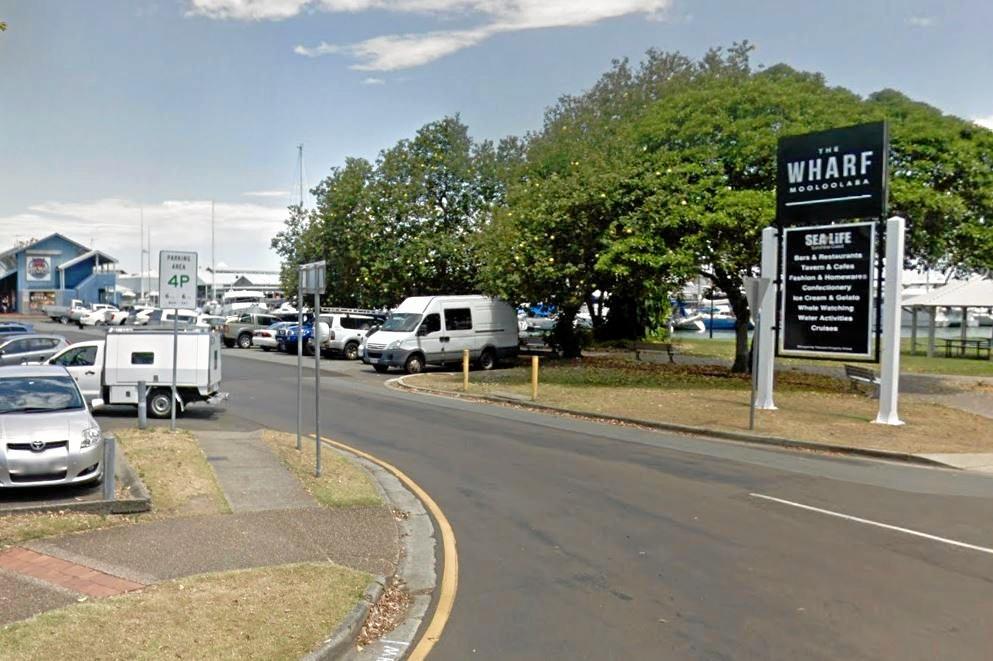 PROBLEM SPOT: Errol Hoopmann says parking limits aren't clear at The Wharf.