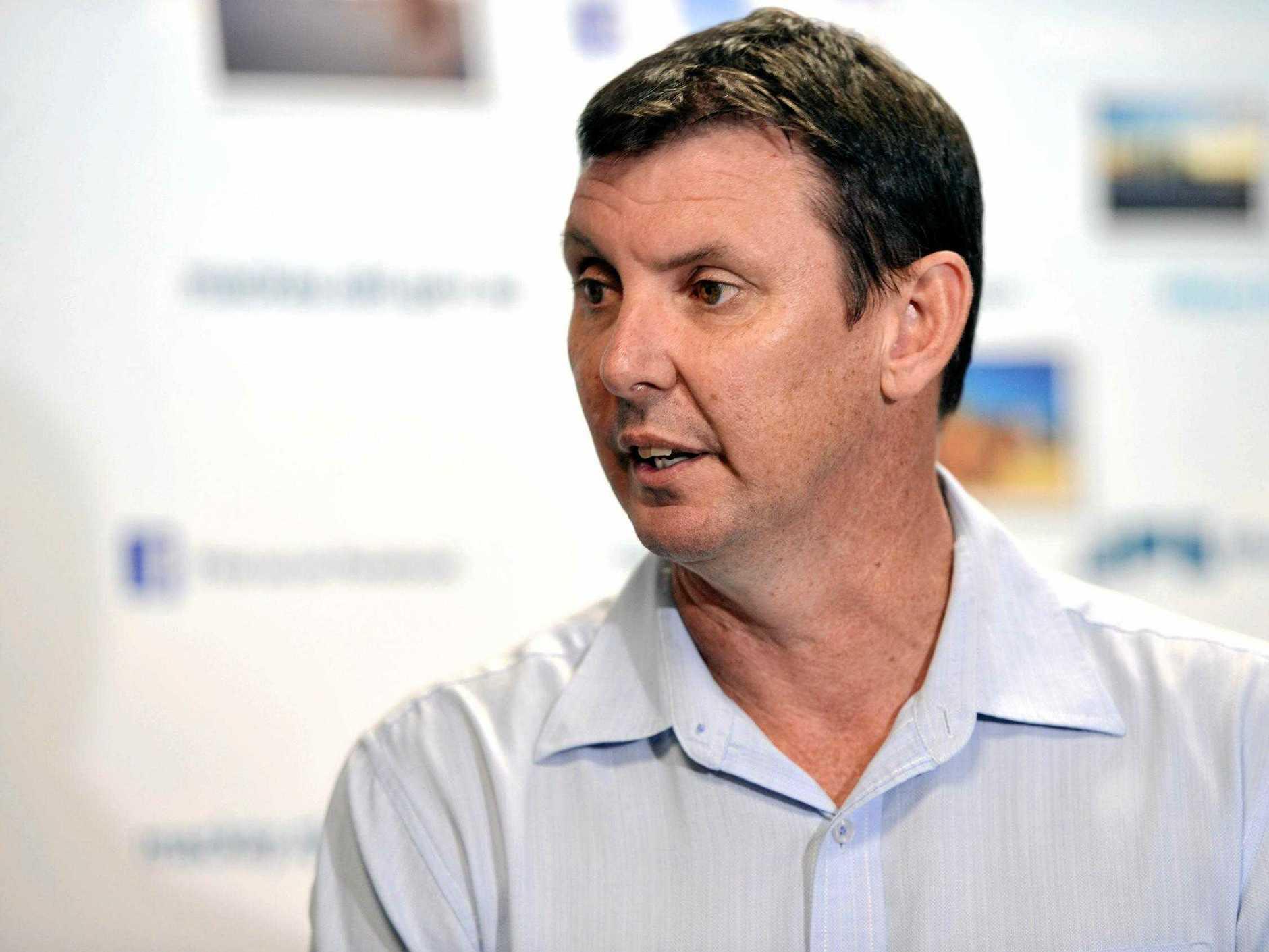 Mackay Regional CEO Craig Doyle.