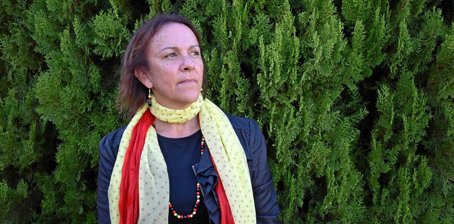 GO-BETWEEN: Grafton Base Hospital Aboriginal liaison officer Carmel Monaghan during NAIDOC Week celebrations.