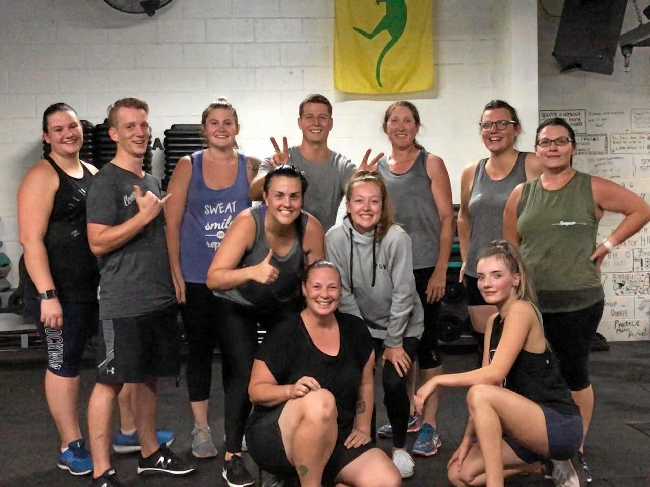 STAYING FIT: The team at Conquer Fitness Kingaroy know how important it is to keep fit for the sake of your overall health.