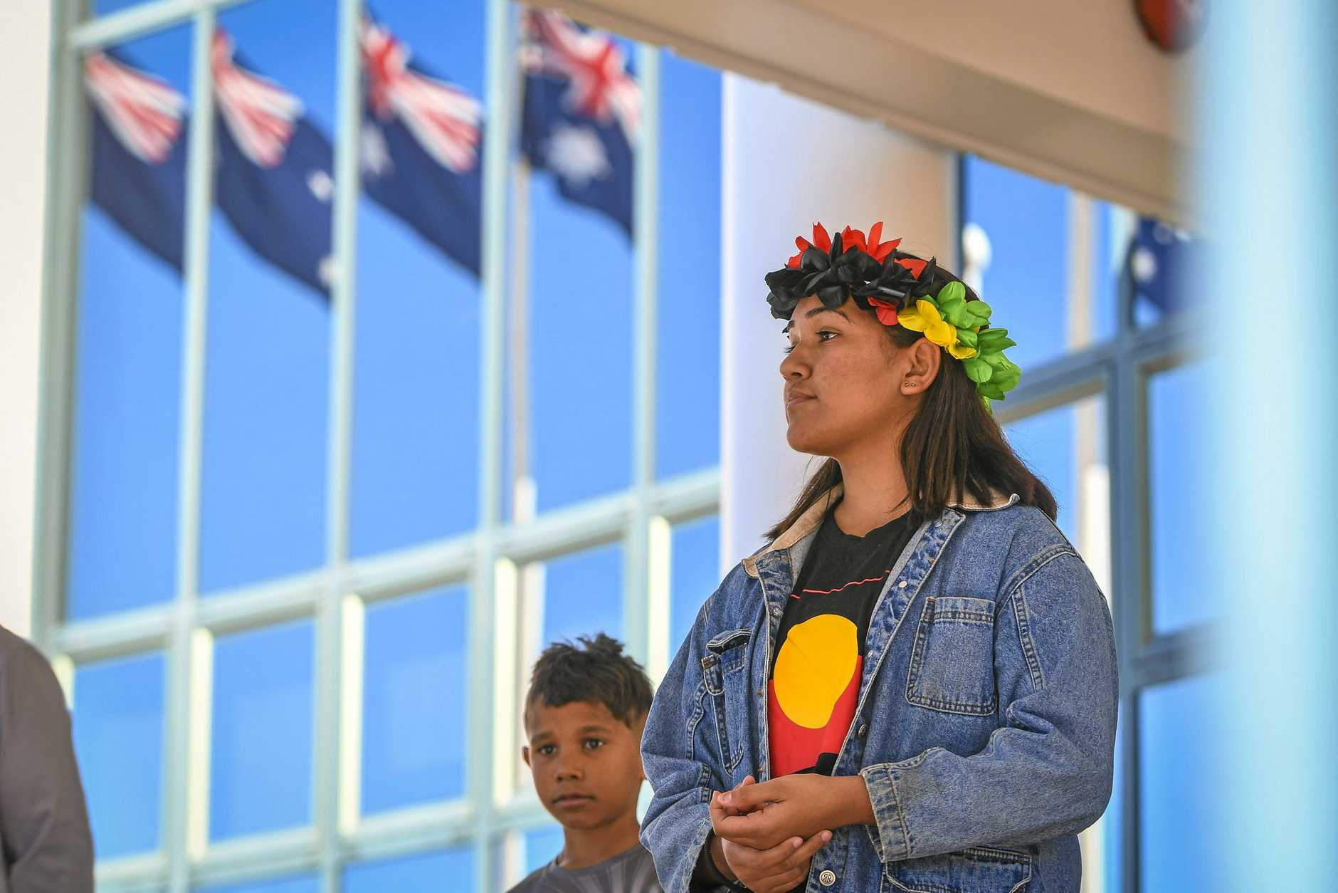 The 2019 NAIDOC week march and celebration made its way up Goondoon Street on 12 July 2019.