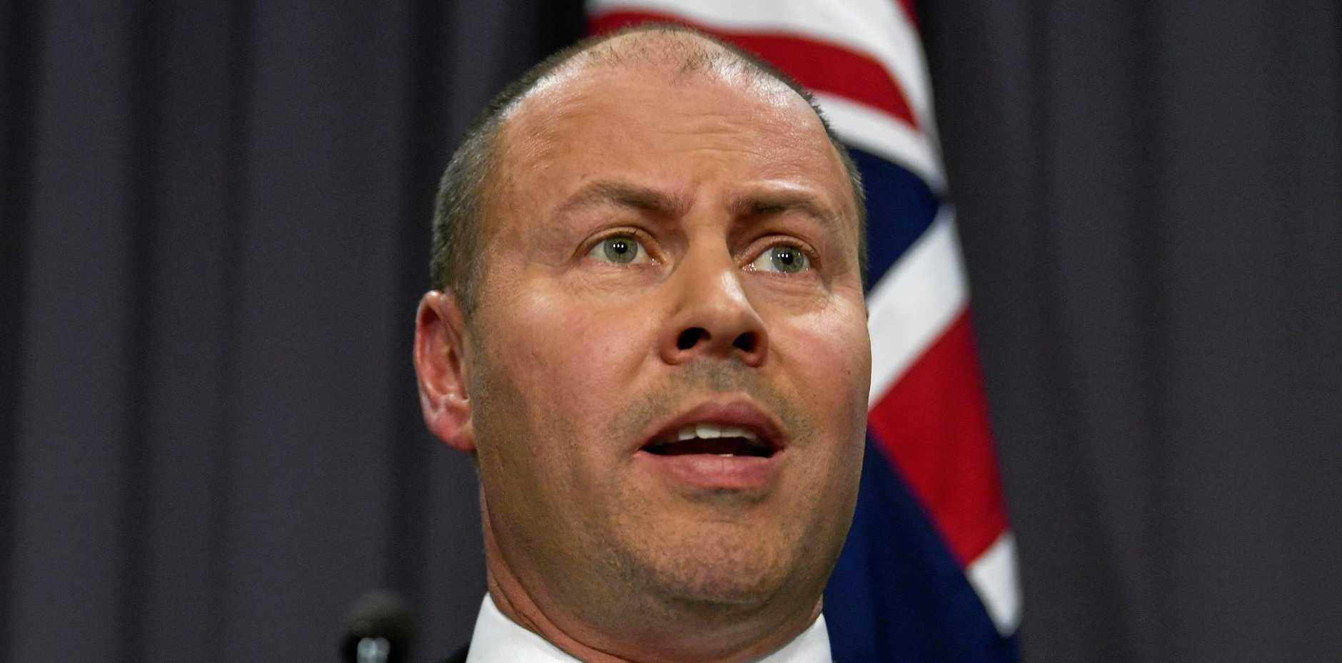 Australian Federal Treasurer Josh Frydenberg.