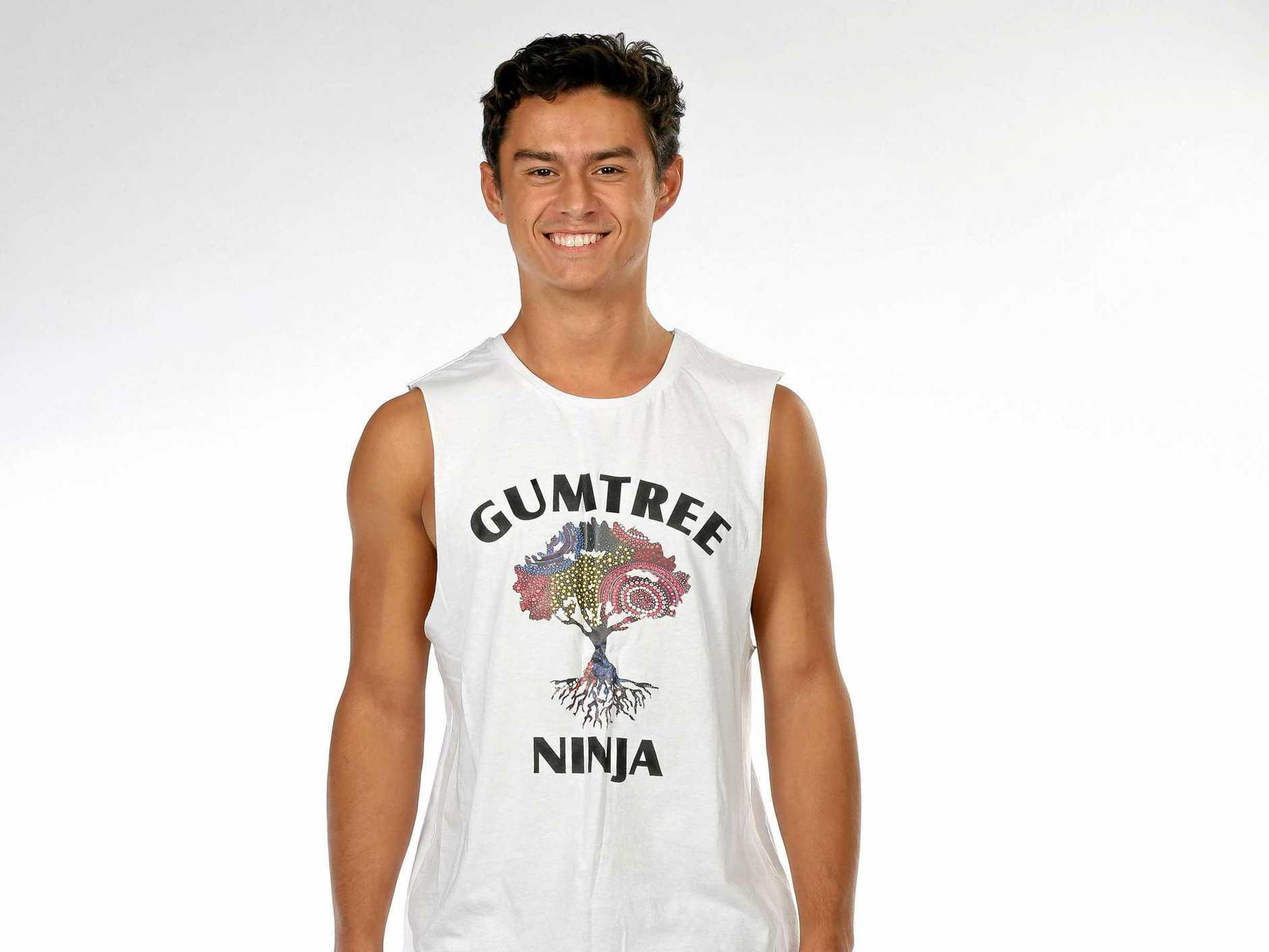 Dhani Johnson from Murwillumbah is set to feature on Australian Nina Warrior tomorrow night.