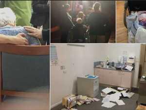 'Disgusting': Scene inside abandoned nursing home
