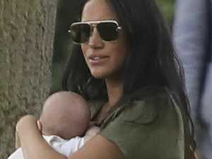 Critics' cruel baby gibe at Meghan